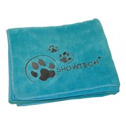 Ručník pro psy SHOW TECH z mikrovlákna 90x56cm modrý