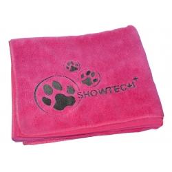 Ručník pro psy SHOW TECH z mikrovlákna 90x56cm růžový