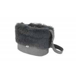 Cestovní taška pro psy LUXURY šedá