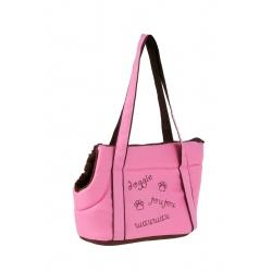 Cestovní taška pro psy DOGGIE růžová