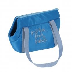 Cestovní taška pro psy COLOR modrá