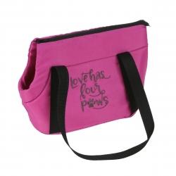 Cestovní taška pro psy COLOR růžová