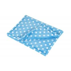 Cestovní deka pro psy COLOR modrá