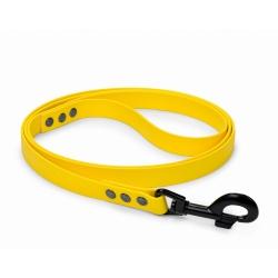 Vodítko pro psy BioThane žluté