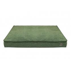 Ortopedická matrace pro psy BAMBOL GREEN lahvově zelená