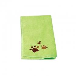 Ručník pro psy CHADOG z mikrovlákna 40x60cm zelený