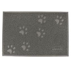 Podložka pod misky pro psy RECORD BOWL MAT 60x40cm šedá