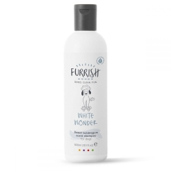 Šampon pro psy s bílou a světlou srstí FURRISH WHITE WONDER 300ml